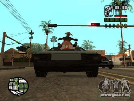 Le Ketchup sur le capot pour GTA San Andreas cinquième écran