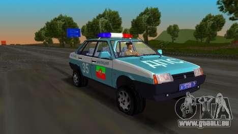VAZ 21099 Miliz für GTA Vice City