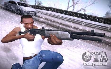Spas 12 pour GTA San Andreas quatrième écran