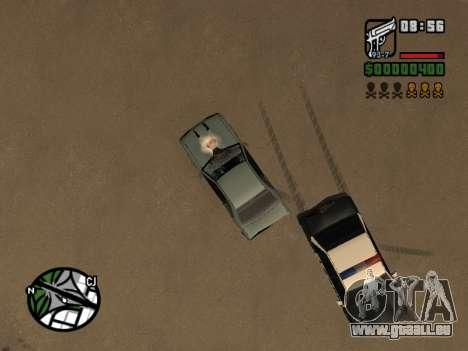 Le Ketchup sur le capot pour GTA San Andreas sixième écran