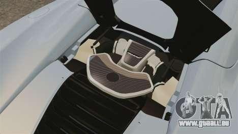 McLaren MP4-12C Spider 2013 pour GTA 4 Vue arrière