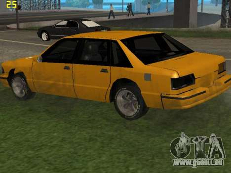 Premier 2012 pour GTA San Andreas vue arrière