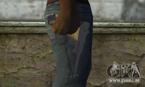 LugerP08 für GTA San Andreas dritten Screenshot