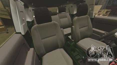 Toyota FJ Cruiser 2012 pour GTA 4 est une vue de l'intérieur