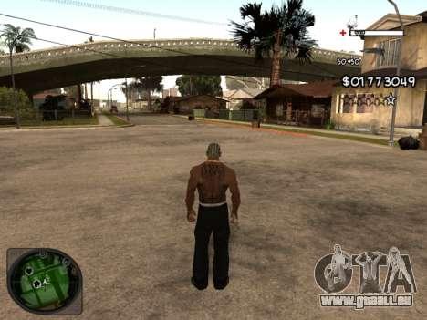 C-HUD by Azov pour GTA San Andreas deuxième écran