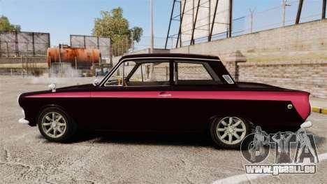 Lotus Cortina 1963 pour GTA 4 est une gauche