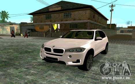BMW X5 F15 pour GTA San Andreas