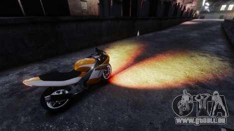 La lumière ardente de phares pour GTA 4 secondes d'écran