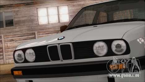 BMW M5 E30 für GTA San Andreas Rückansicht