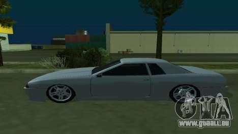 Elegy 280sx pour GTA San Andreas vue intérieure