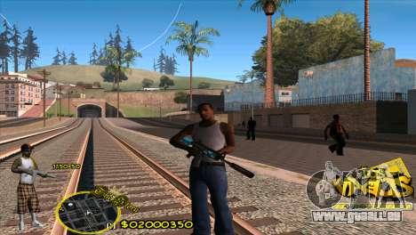 C-HUD Vagos by HARDy pour GTA San Andreas