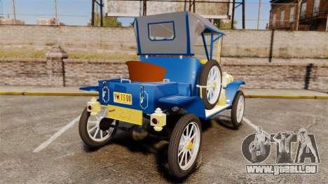 Ford Model T 1912 pour GTA 4 Vue arrière de la gauche