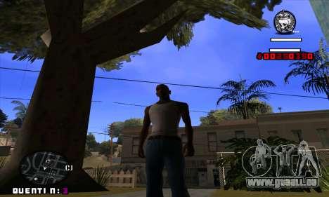 C-HUD Quentin pour GTA San Andreas
