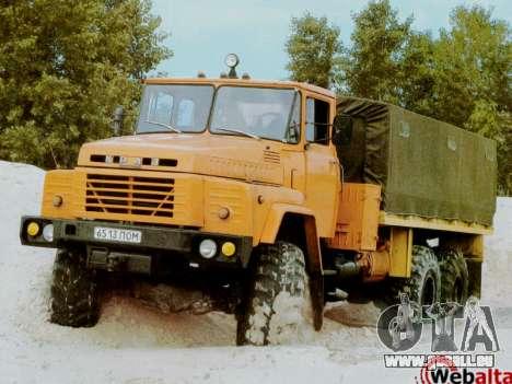 Boot-screens sowjetischen LKW für GTA San Andreas fünften Screenshot