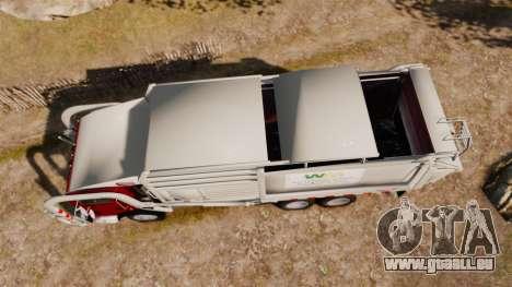 Mack MR 688S Front Load 2000 für GTA 4 rechte Ansicht