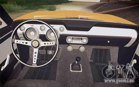 Equus Bass 770 pour GTA San Andreas vue de droite