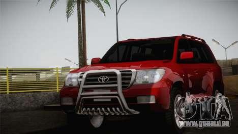 Toyota Land Cruiser 200 pour GTA San Andreas vue de droite