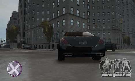 Enus Cognoscenti pour GTA 4 Vue arrière de la gauche