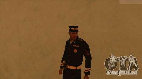 Les peaux de la police et de l'armée pour GTA San Andreas septième écran