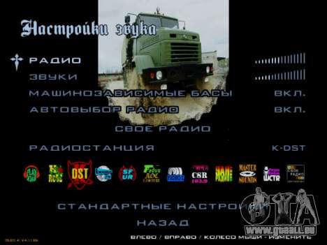 Boot-screens sowjetischen LKW für GTA San Andreas zehnten Screenshot