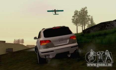 Audi Q7 für GTA San Andreas rechten Ansicht
