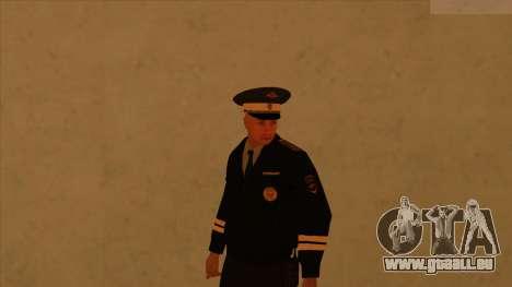 Les peaux de la police et de l'armée pour GTA San Andreas quatrième écran