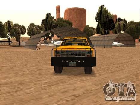Ford F-250 für GTA San Andreas Rückansicht