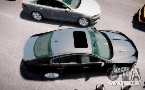 Jaguar XF-R 2012 v1.2 pour GTA 4 Vue arrière