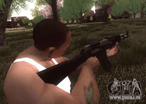 AK-103 für GTA San Andreas her Screenshot