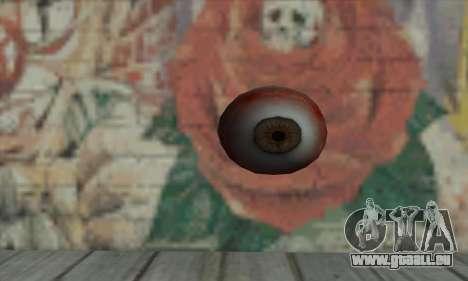 Eye Grenade für GTA San Andreas