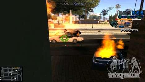 C-Hud Niko pour GTA San Andreas troisième écran