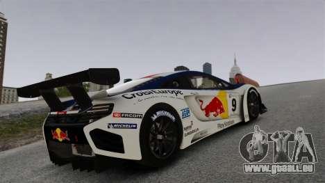 McLaren MP4-12C GT3 für GTA 4 obere Ansicht