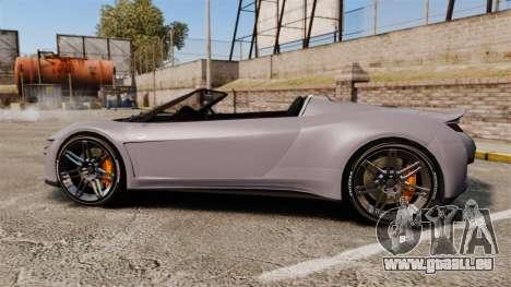 GTA V Dinka Jester Rodster für GTA 4 linke Ansicht