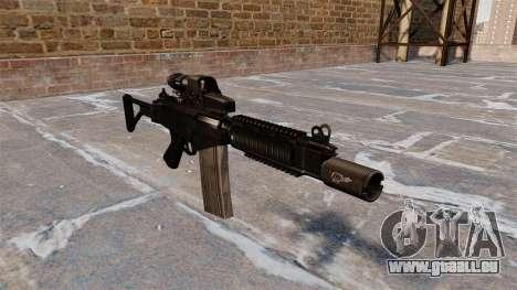 Fusil automatique DSA FN FAL pour GTA 4