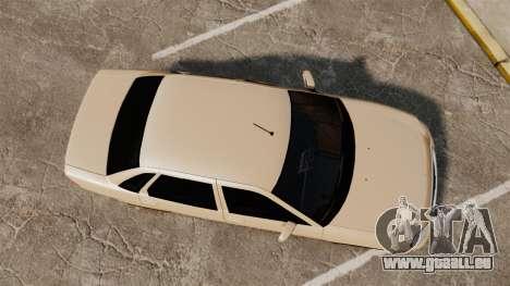 ВАЗ-2170 Installé Avant pour GTA 4 est un droit