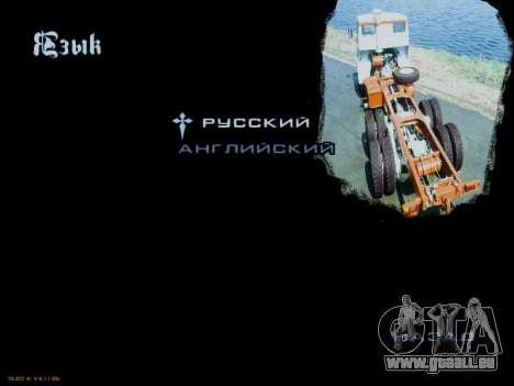 Boot-screens sowjetischen LKW für GTA San Andreas zwölften Screenshot