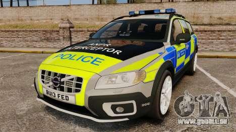 Volvo XC70 ANPR Interceptor [ELS] pour GTA 4