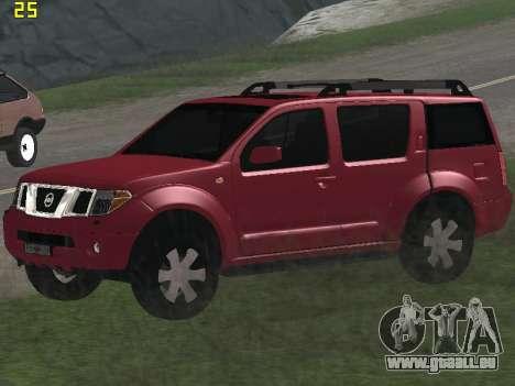 Nissan Pathfinder für GTA San Andreas Innenansicht