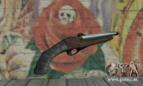 Fusil à canon scié pour GTA San Andreas deuxième écran