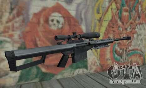 M82A1 Barret .50cal für GTA San Andreas zweiten Screenshot