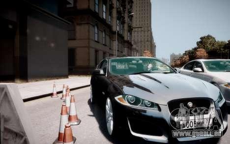 Jaguar XF-R 2012 v1.2 pour GTA 4 est un droit
