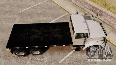 Benson Heavy für GTA 4 rechte Ansicht