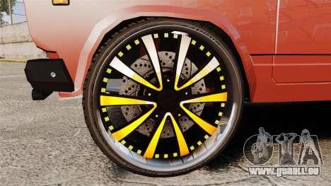 VAZ-2107 Donk Style pour GTA 4 Vue arrière