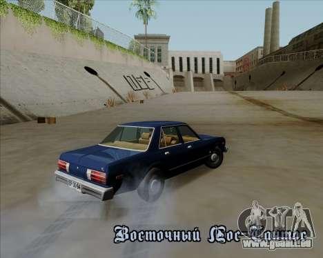 Dodge Aspen pour GTA San Andreas laissé vue