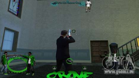 Hud By Tony für GTA San Andreas dritten Screenshot