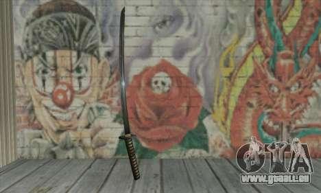 Samurai katana pour GTA San Andreas