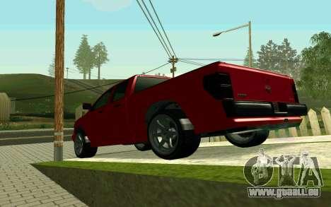 GTA V Bison Version 2 FIXED für GTA San Andreas rechten Ansicht