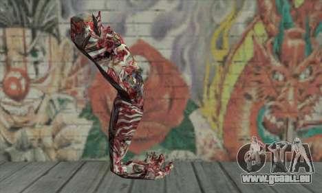 Dead hand pour GTA San Andreas deuxième écran