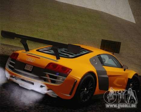 Audi R8 LMS Ultra Old Vinyls für GTA San Andreas linke Ansicht