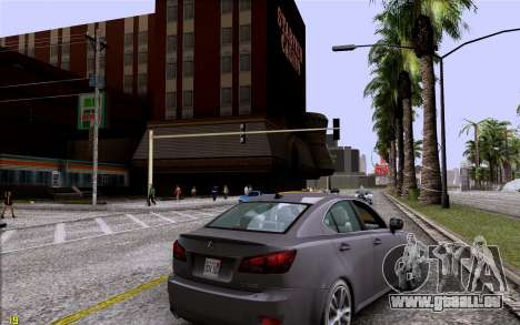 ENB HD CUDA 2014 v1.0 pour GTA San Andreas deuxième écran